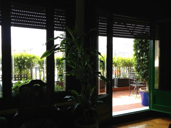 Casa Con Estilo : balcony view from dining room 