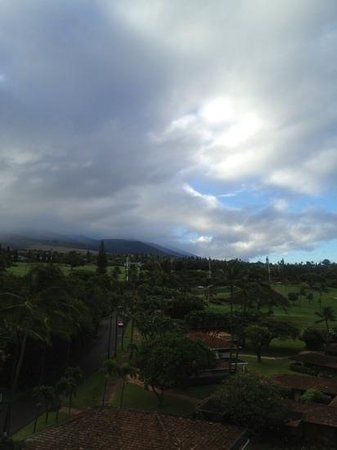 Royal Lahaina Resort: early morning in Maui view from room
