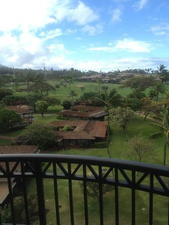 Royal Lahaina Resort: golf course view.