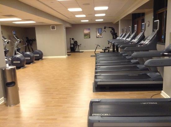 Omni Hotel at CNN Center: The Omni fitness room in the North Tower is very nice