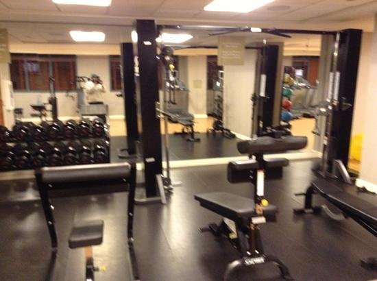 Omni Hotel at CNN Center: Pretty nice fitness room