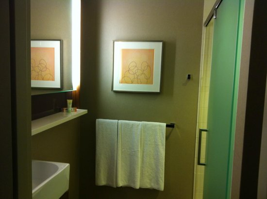 Grand Hyatt New York: Small bathroom