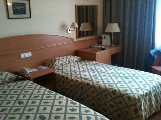 Hotel Erzsebet City Center: Chambre