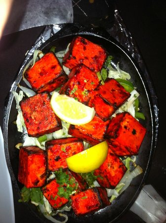 Pinellas Park, FL: Paneer tikka was on the mark