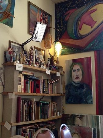 Evanston, IL: books and art at Praire Joe's