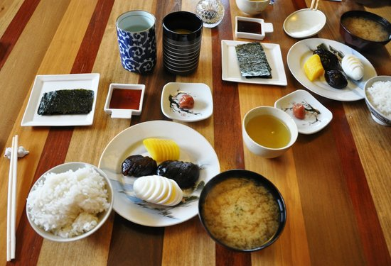 Berkshires Shirakaba Guest House: Japanese Breakfast - yummy!
