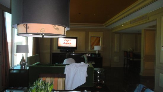 The Mirage Hotel &amp; Casino: 1 bedroom penthouse suite