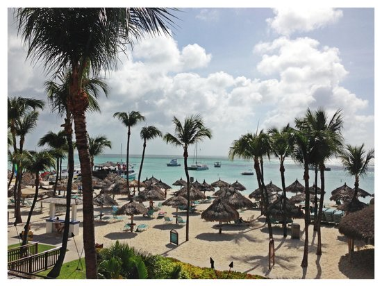 Hyatt Regency Aruba Resort and Casino: I will add that the view is beautiful