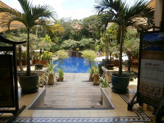 Victoria Angkor Resort &amp; Spa: The pool