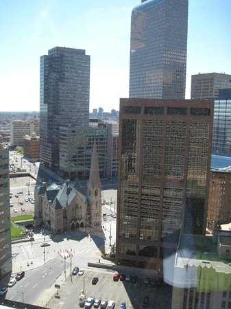 Grand Hyatt Denver Downtown: View from 23rd floor