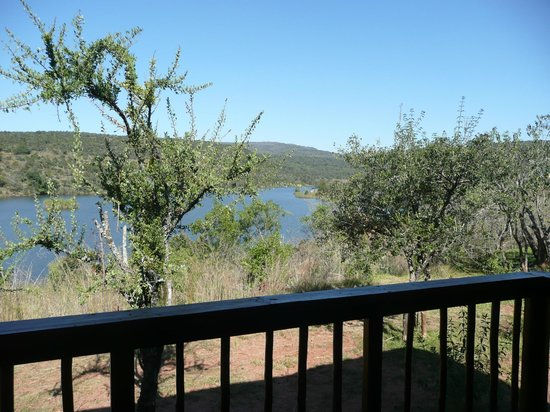Entabeni Game Reserve, South Africa: View from our balcony