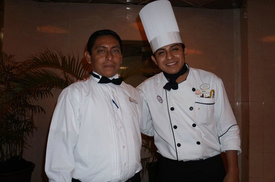 Hacienda Tres Rios: Chef and helper created a GREAT experience at Chefs Table