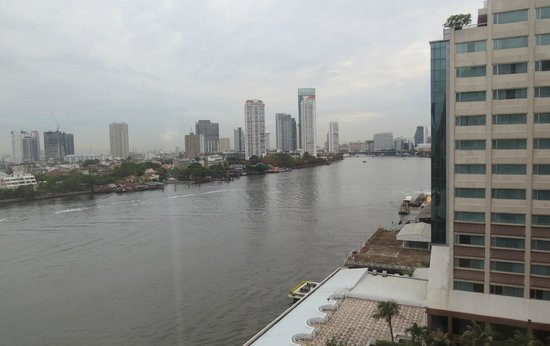 Ramada Plaza Menam Riverside: View from our room