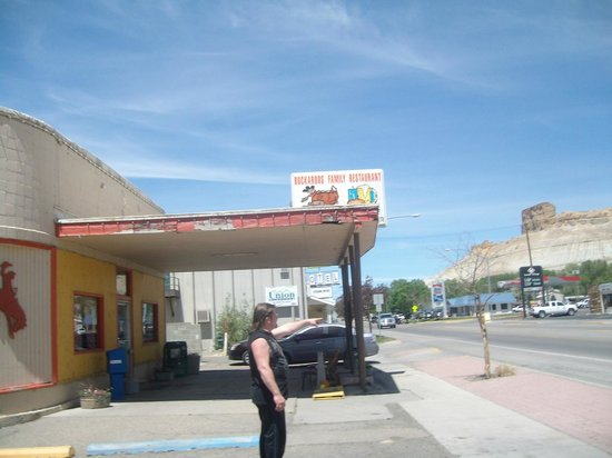 Front entrance, Buckaroo's Family Restuarant, Green River WY