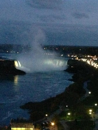 Sheraton on the Falls: canadian falls