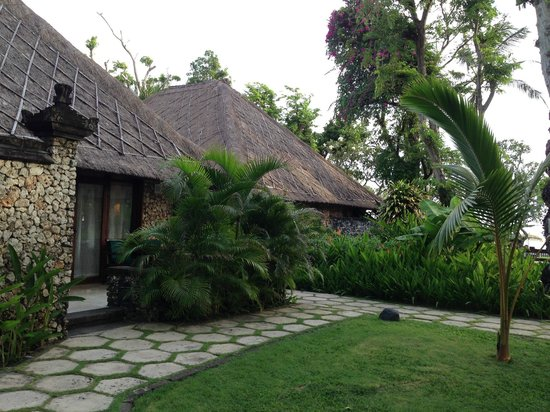 The Oberoi Bali: our room (which should be considered a villa)