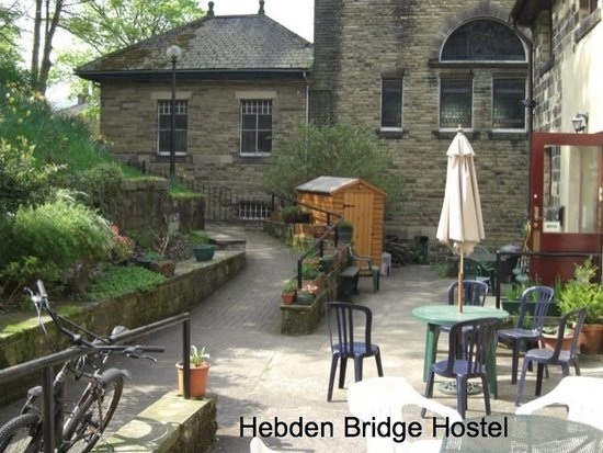 Hebden Bridge, UK: in the garden