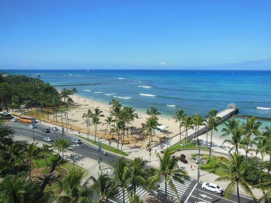 Park Shore Waikiki: The beautiful view from our room.