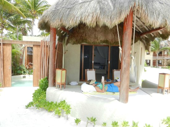 Mahekal Beach Resort: deluxe ocean front 4c