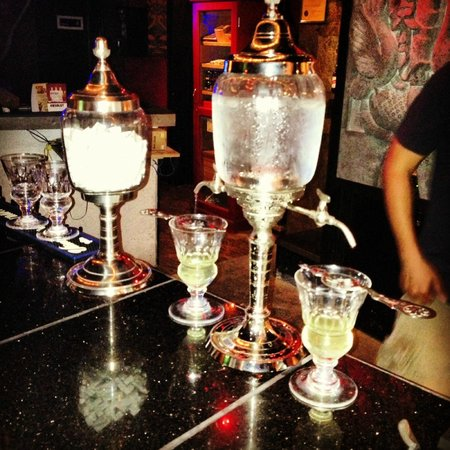 Galveston Island, TX: Absinthe Fountain