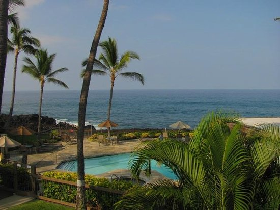 Outrigger Kanaloa at Kona: view of the ocean