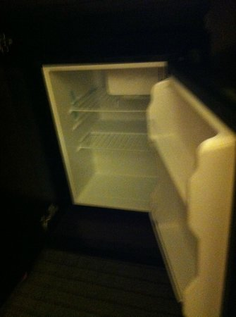 Holiday Inn Inner Harbor: Small refrigerator