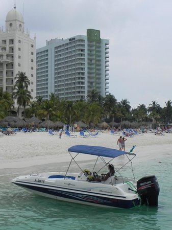 The Westin Resort & Casino, Aruba: Localização do Hotel
