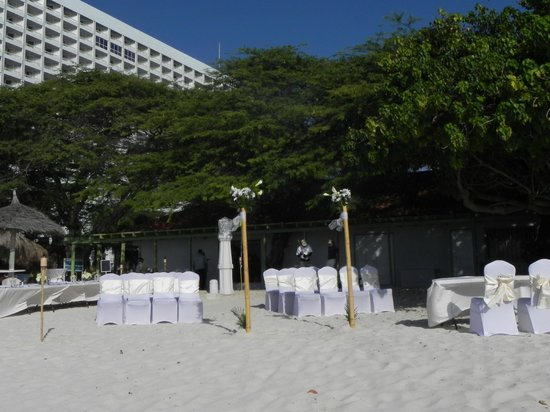 The Westin Resort & Casino, Aruba: Local para casamento à beira mar