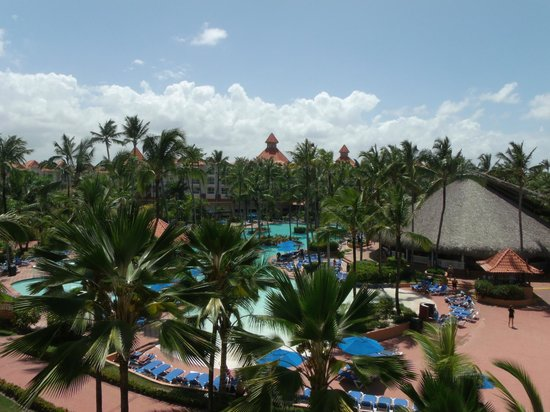 Barcelo Punta Cana: The main pool, from our balcony