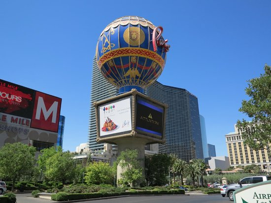 Paris Las Vegas: Paris' baloon