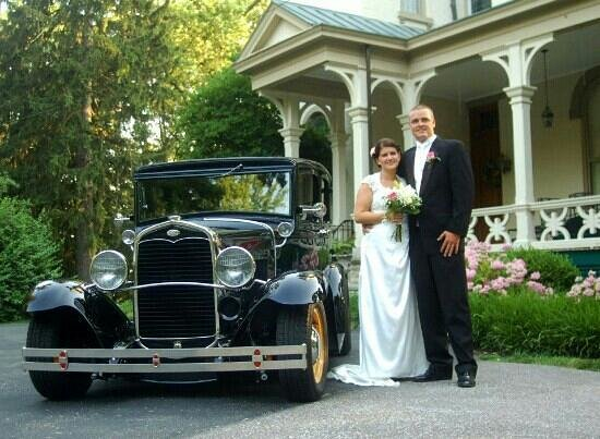 Milford, OH: Our wedding last summer 2012 at the Promont House. Best decision ever! Her too!