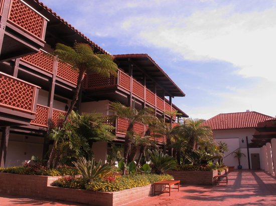 La Jolla Shores Hotel : Garden view rooms