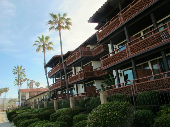 La Jolla Shores Hotel: Ocean view room