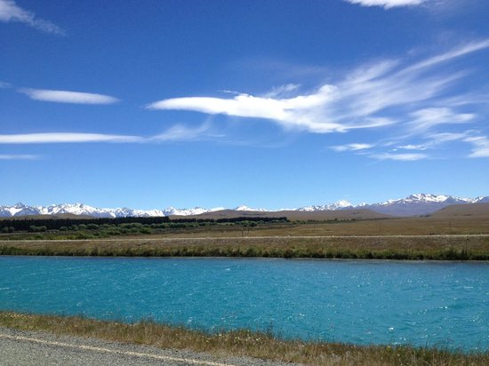 Twizel,  : The view