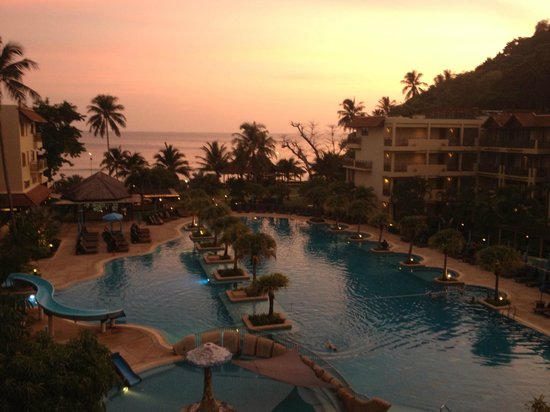Merlin Beach Resort: View