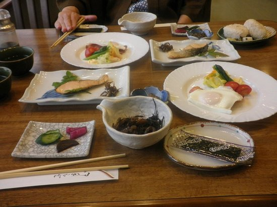 Imabari, Japan: Breakfast