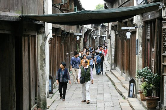 Tongxiang, Cina: Streets of Wuzhen