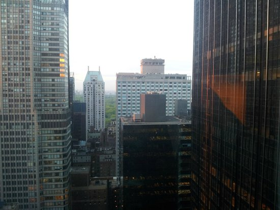 New York Hilton Midtown: View from my room