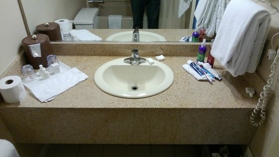 The Quad Resort and Casino: Basic bathroom