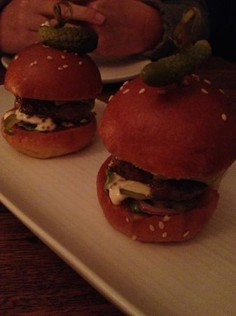 St Kilda, Australia: Beef Sliders are tasty and juicy. Comes with 2 so share with a friend!