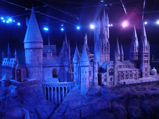 Watford, UK: The Hogwarts Model May 2013