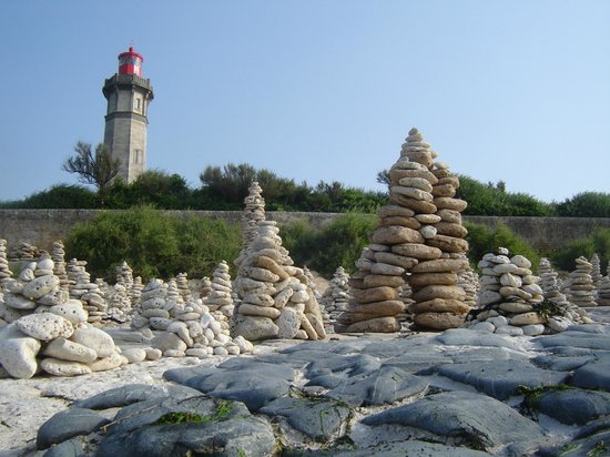 Saint Clement des Baleines, Francia: phare des baleines et galets