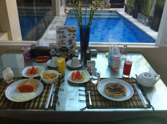 Kamuela Villas Seminyak: breakfast day 2