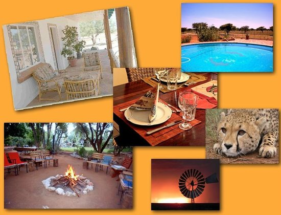 Bed and Breakfasts i Okahandja