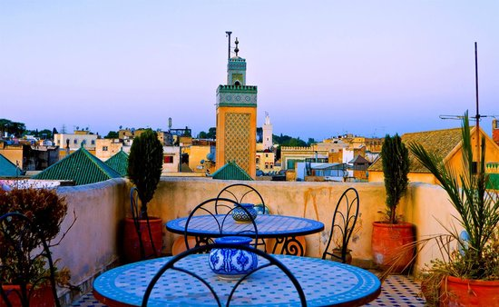 Riad Hala Vue