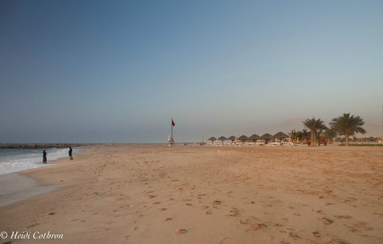 Hilton Ras Al Khaimah Resort & Spa: one of two beaches