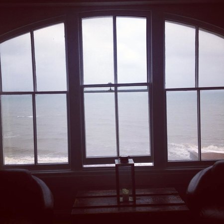 St. Leonards-on-Sea, UK: View from Africa room