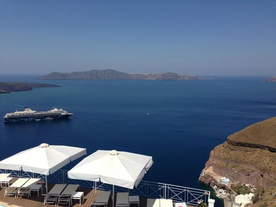 Athina Repose Suites: View from balcony