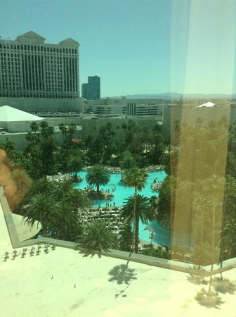 The Mirage Hotel &amp; Casino: Vistas desde la planta 9