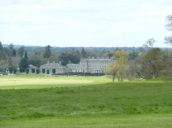 Carton House Hotel & Golf Club: View from the golf course